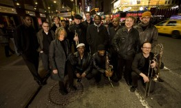 Mingus Big Band with Sue Mingus. 2008 NYC. Photo by Jimmy Katz
